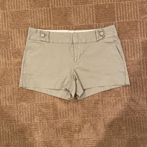 Khaki banana republic shorts